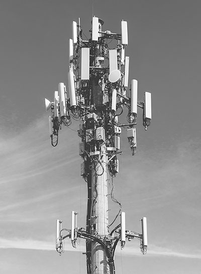 communications tower image of communication mobile internet antenna